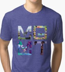 MGMT Albums Tri-blend T-Shirt