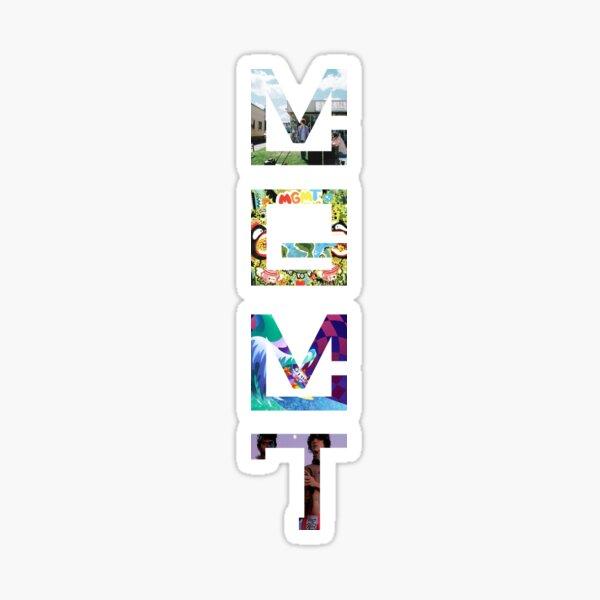MGMT Albums Sticker