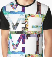 MGMT Albums Graphic T-Shirt
