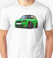 Skoda Fabia 2 vRS Green [BLK wheels] T-Shirt