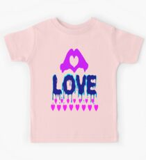 ۞»♥A Bleeding Passionate Love Clothing & Stickers♥«۞ Kids Tee