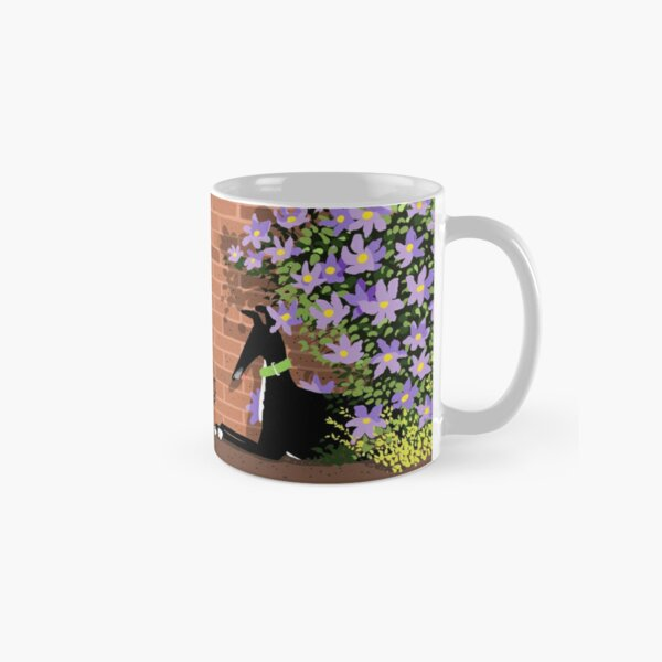 In the Shade of the Clematis Classic Mug