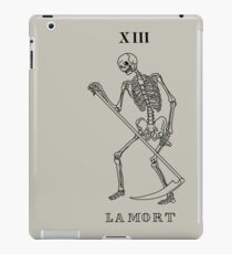 Death Tarot Card iPad Case/Skin