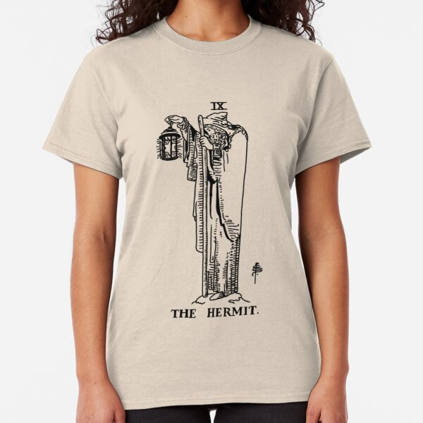 The Hermit Tarot Card Classic T-Shirt
