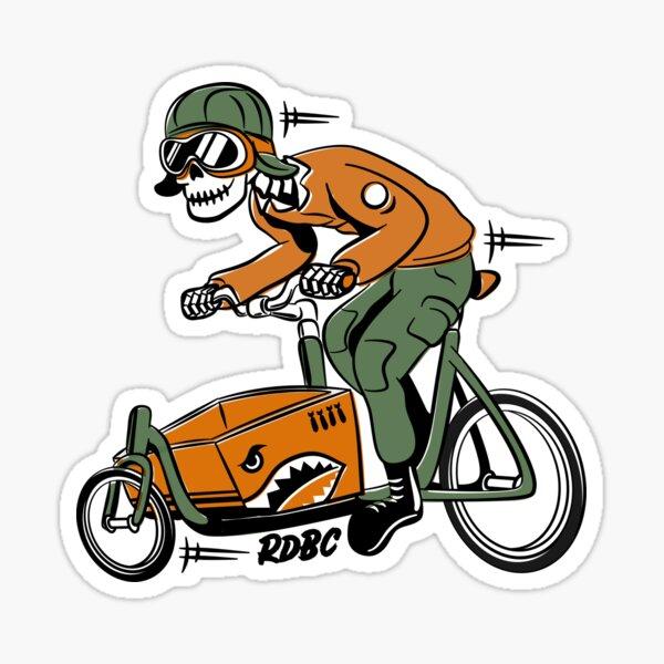 Rad Dad Bicycle Club: Cargo Bike Pilot Sticker
