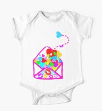 ۞»♥A Romantic Envelope:A Seal of Love Clothing & Stickers♥«۞ One Piece - Short Sleeve