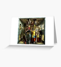 Ecce Homo 126 - IMMORTALS Greeting Card