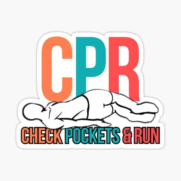 CPR Sticker