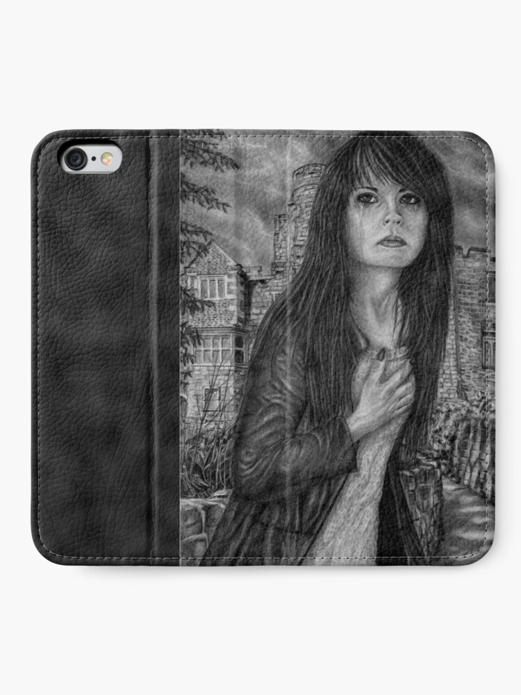 Alternate view of Leaving. Original artwork by Dean Sidwell iPhone Wallet