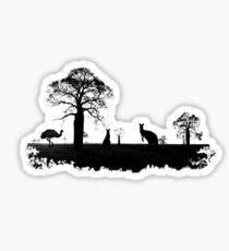 Outback Australia Sticker