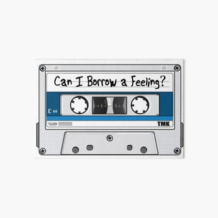 Borrow Cassette Art Board Print