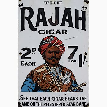 Vintage looking Rajah Cigar by TheBeardedOne