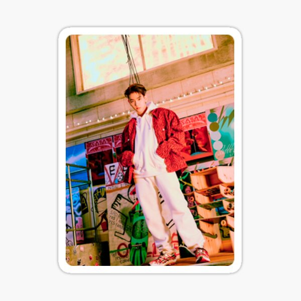 baekhyun delight photocard v2.5 Sticker