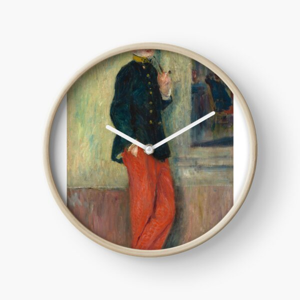 The Young Soldier oil Painting by Auguste Renoir Clock