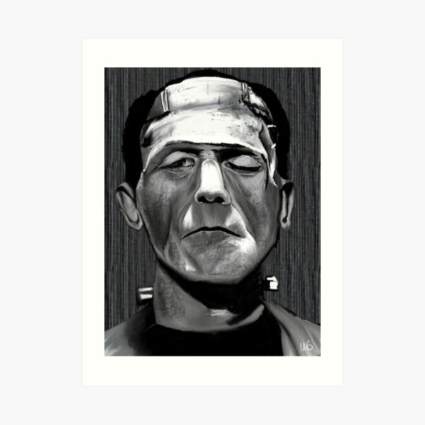 Frankenstein's Monster Art Print