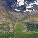 Doronelva i Lilledalen, ved Olderdalen i Kåfjord by Algot Kristoffer Peterson