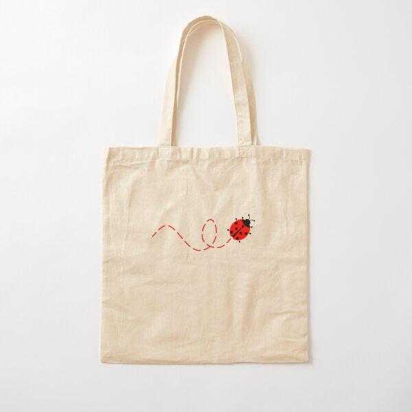 Ladybug Cotton Tote Bag