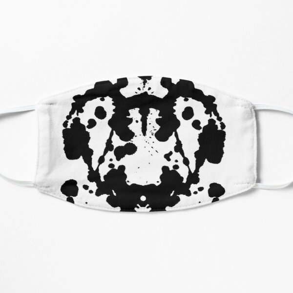 Laugh like Rorschach Mask