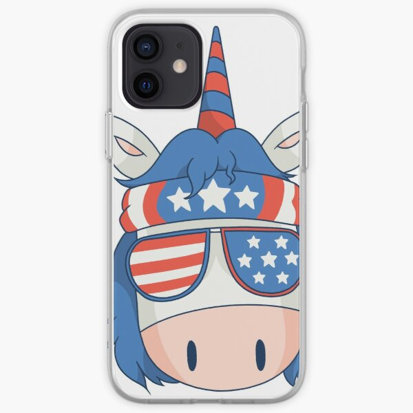 unicorn chef bbq fun is a great gift for chefs and cooking or barbecue lovers iPhone Soft Case