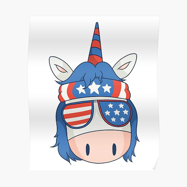 unicorn chef bbq fun is a great gift for chefs and cooking or barbecue lovers Poster