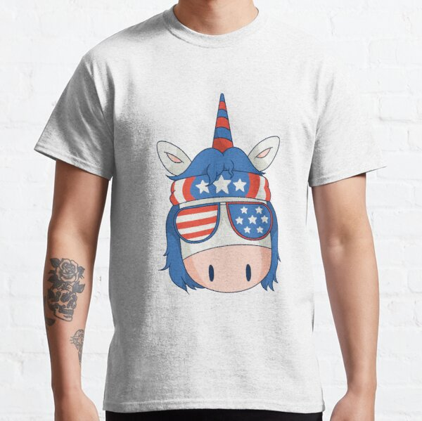 unicorn chef bbq fun is a great gift for chefs and cooking or barbecue lovers Classic T-Shirt