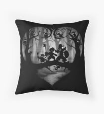 Shadow Fight Throw Pillow