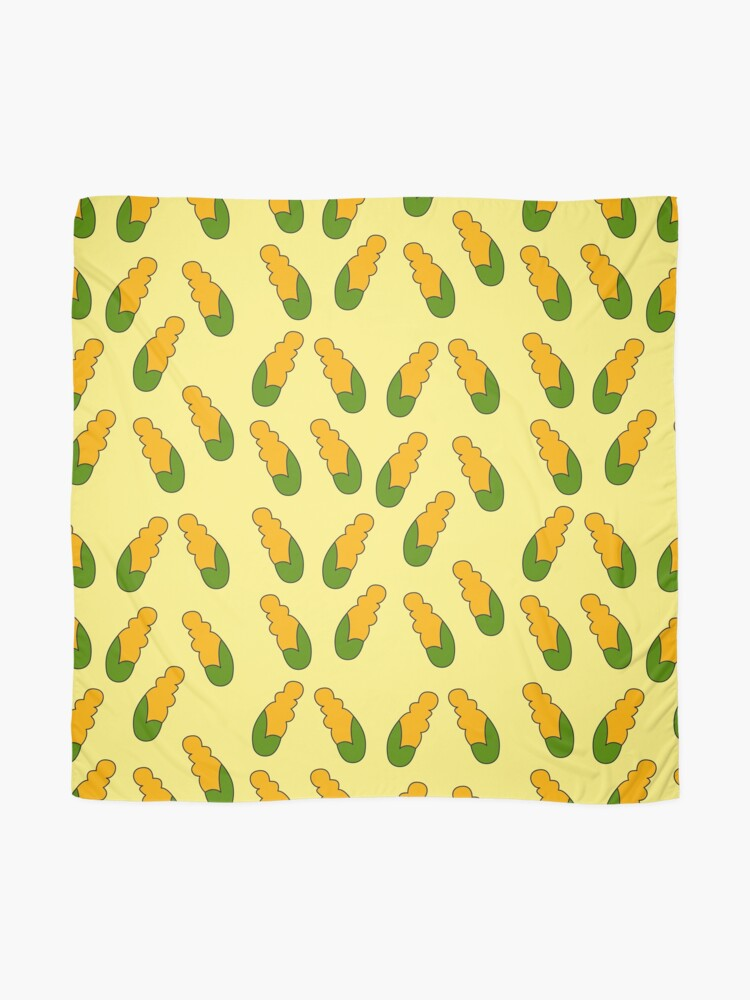 Alternate view of corncobs Scarf