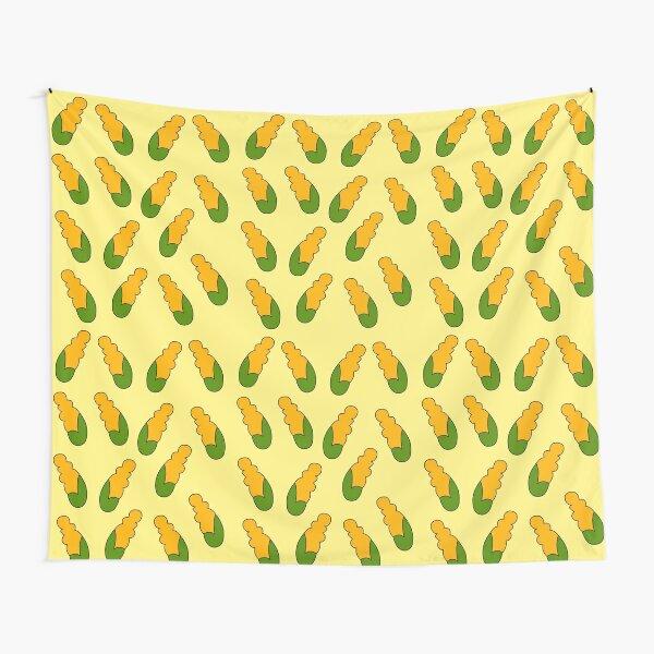 mazorcas de maíz Tela decorativa