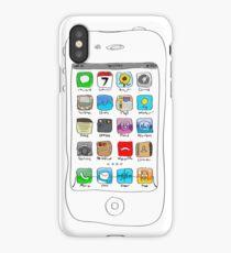 Phone illustration iPhone Case