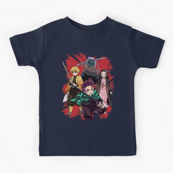 Demon Slayer Anime Camiseta para niños