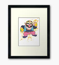 Wario - Super Smash Bros Framed Print