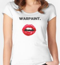 Warpaint. Women's Fitted Scoop T-Shirt