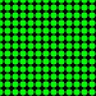 Green Squares by haymelter