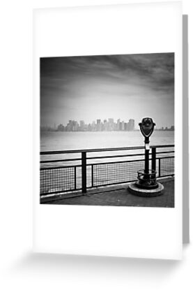 NYC: Manhattan View by Nina Papiorek