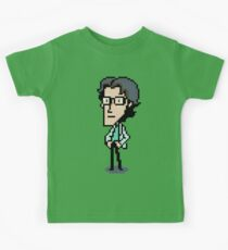 Otacon Sprite - Metal Gear Solid 2 / Sons of Liberty Kids Tee