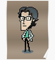 Otacon Sprite - Metal Gear Solid 2 / Sons of Liberty Poster