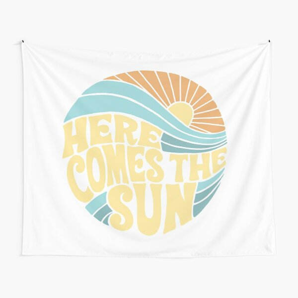 Groovy Here Comes the Sun Tapestry