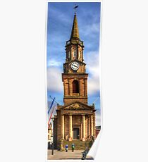 The Town Hall in Berwick-upon-Tweed Poster