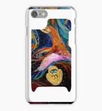 "iPhone skin 2 based on my original artwork ""Longing for Chagall"" iPhone Case/Skin"