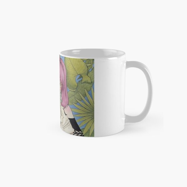 Succulent Witch with Skull Classic Mug