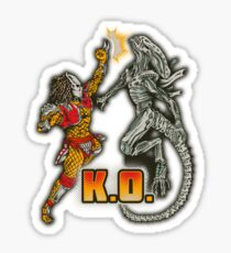 Super AvP II: Turbo Edition Sticker