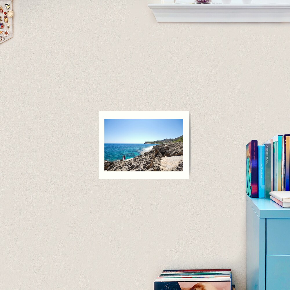 How to be one with the Sea Art Print