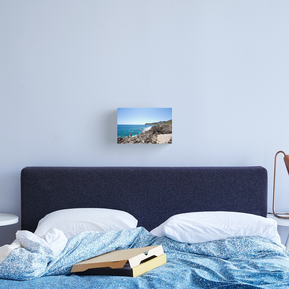 How to be one with the Sea Canvas Print