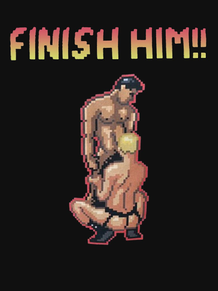 finish him video game by LubaArce