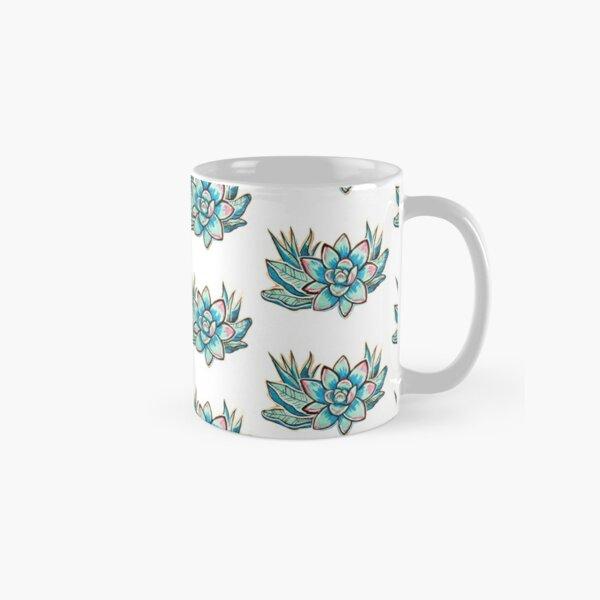 Colorful Echeveria Classic Mug
