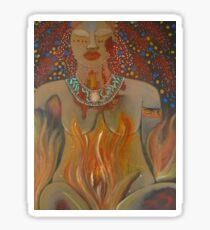 Goddess of Sacred Fire ~ Pele Sticker