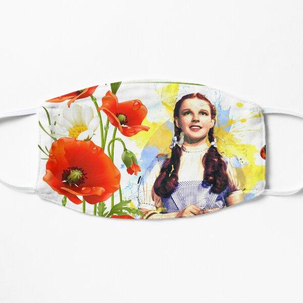 Dorothy Poppies Flat Mask