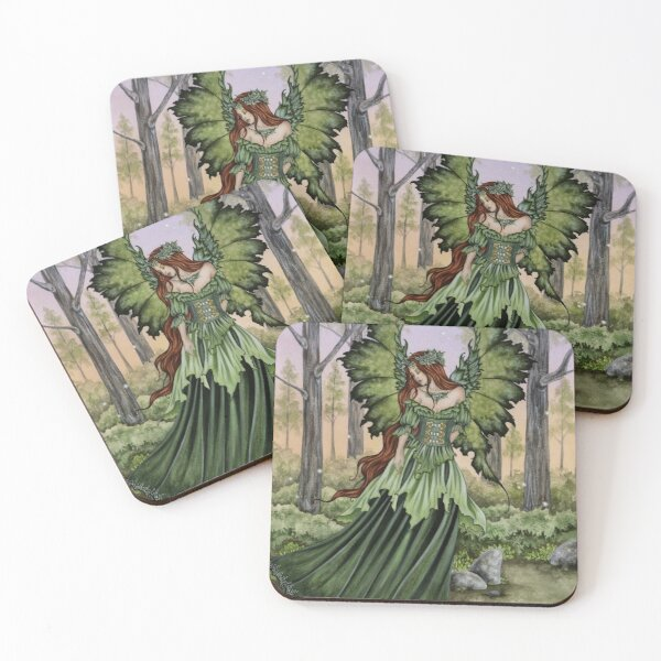 Lady of The Forest Coasters (Set of 4)