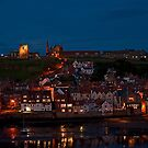 Whitby at Night by JMChown