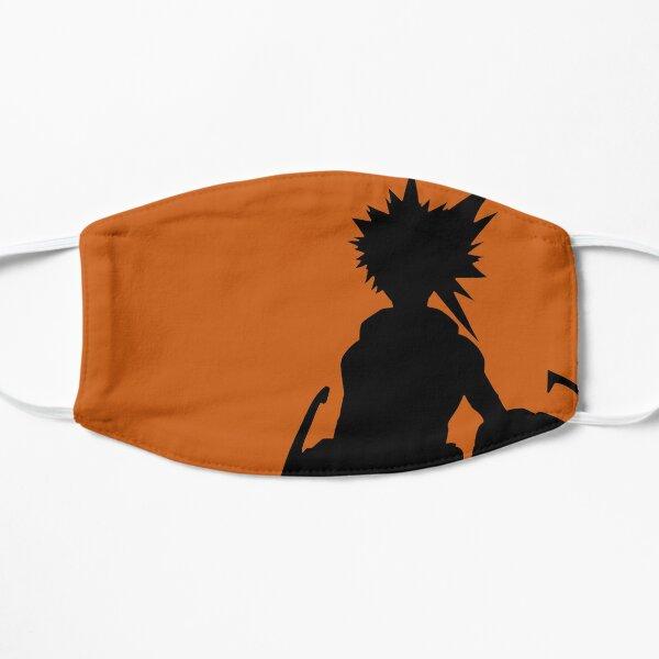 Black and orange Bakugou Flat Mask